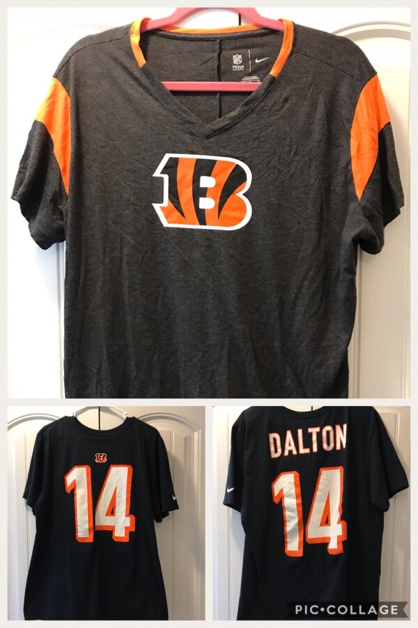 5f73d5bf Used Nike Bengals XL shirts for sale in Broadway - letgo