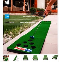 Putterball Golf/Beer Pong Game