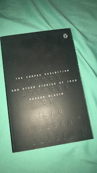 The Corpse Exhibition and Other Stories of Iraq by Hassan Blasim book Pullman, 99163