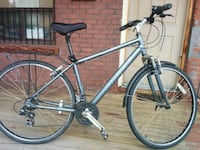 gray and black hardtail bike 538 km