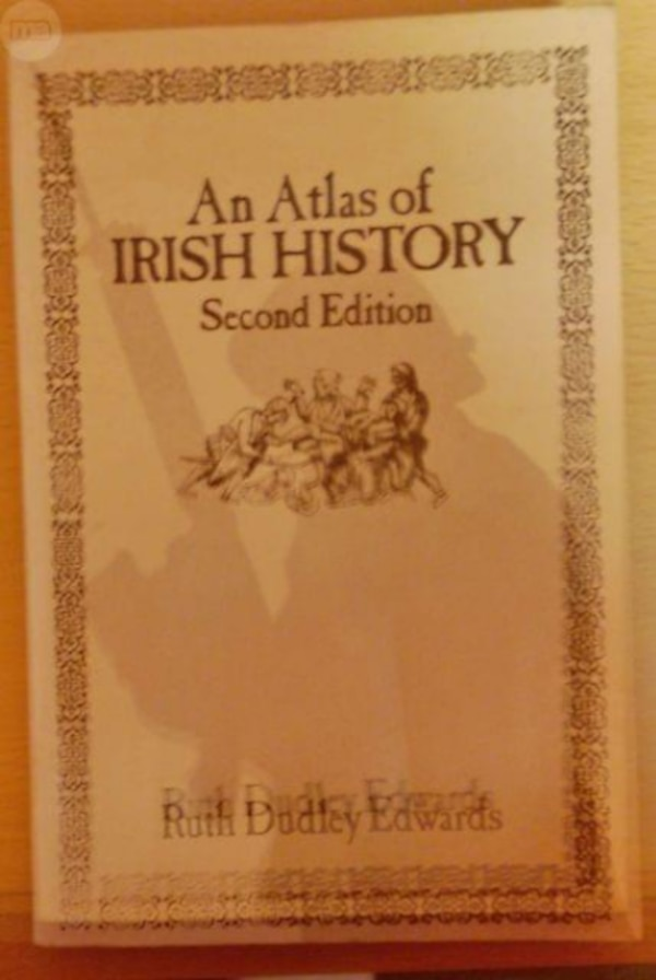 Libro: An Atlas of IRISH HISTORY