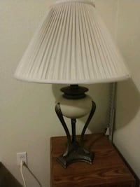 white and black table lamp Centennial, 80112