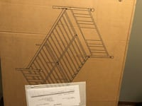 Brand new unboxed full metal bed frame. Price is negotiable. London, N6A 2L1