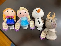 Disney Frozen Plushes