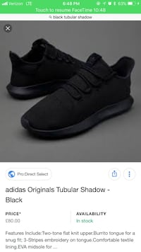 pair of shadow black Adidas Original Tubular screenshot Dayton, 47941