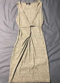 MISSGUIDED grey bodycon dress with open stomach Toronto, M6C 2Z2
