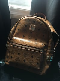 MCM Side Studs Small Stark Backpack
