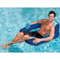New SwimWays Spring Float SunSeat Silver Spring