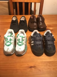 toddler's four pairs of shoes North Lauderdale, 33068