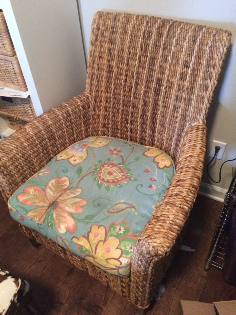 Pier One Sonita Armchair, 2 Cushions