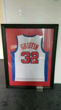 Blake Griffin Signed Rookie Jersey Torrance, 90505