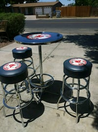 Boston red sox bar stools and table Phoenix, 85037