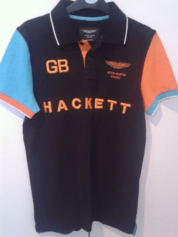 96c63c7db64 HACKETT Aston Martin Polo T-shirt M size GB for sale in Greater London