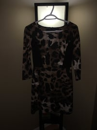 "Located northeast near Clareview/ Northgate   Brand new tags on - Ladies dress ""Xhileration"" size small -Classy, sophisticated 3/4 length sleeve U neck dress  Edmonton, T5A"