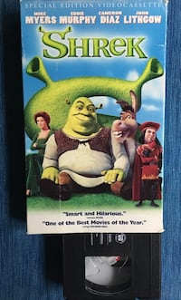 SHREK + Other Movies VHS Calgary, T2V