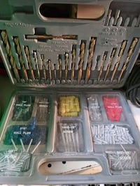 drill bit and hardware set