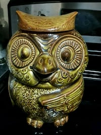 Collectible Owl Cookie Jar