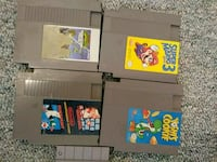 Various nes and snes games Salt Lake City, 84111