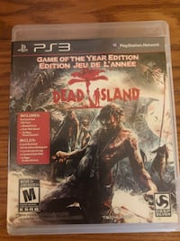 Dead Island Playstation 3 game! Toronto, M1S 1V9