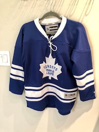 Youth L/XL NHL JERSEY. Toronto maple leafs Vaughan