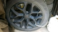 22 inch wheels and tires for GM Chicago, 60647