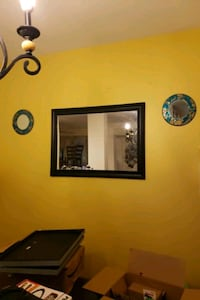 two black wooden framed wall mirrors Germantown, 20874