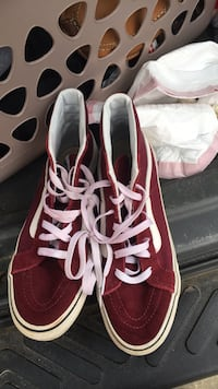 Burgundy High Top Vans Evans, 30809