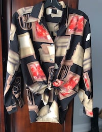 Over size funky blouse