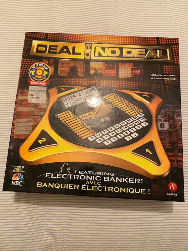 Deal or no Deal Board Game d7975cdc-f436-468a-a359-11227865411b