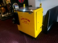 yellow and gray Royal Crown Cola chiller Charles Town, 25414