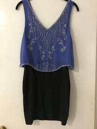 Beaded Blue Dress New Westminster, V3L 1B9