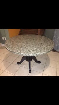 Solid granite,round, 46 inch dining table  Markham