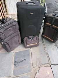 3 luggages 1 carryon