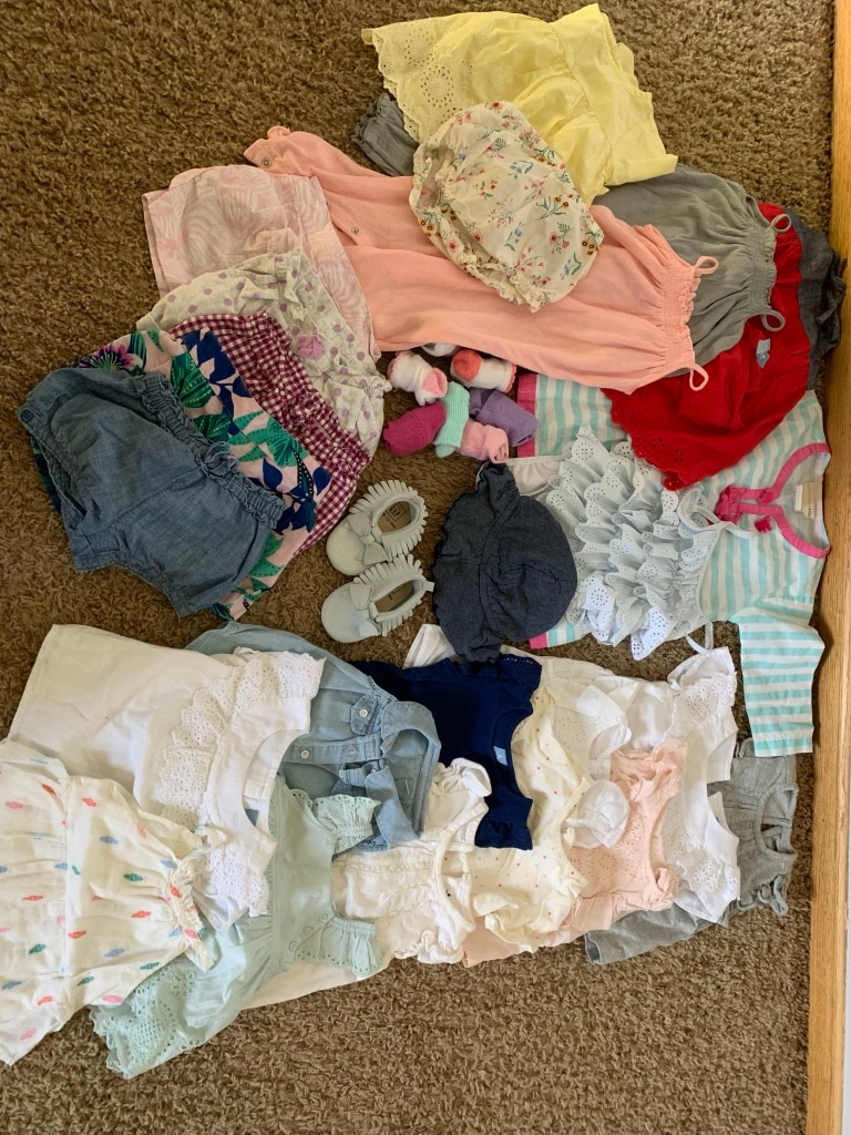 Photo Toddler Girl Summer Clothes; 12-18 Month