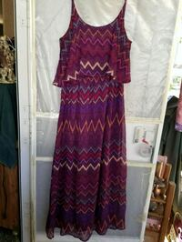women's purple and red dress Church Point, 70525