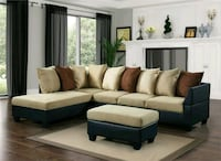 Sectional brand new with free ottoman Hyattsville, 20781