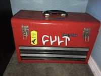 Red and black husky tool chest Garden Grove, 92843