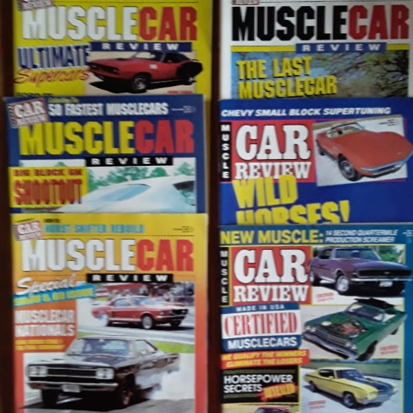 1987 Muscle Car Review magazines