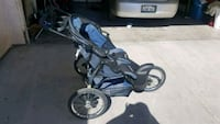 baby's blue and black jogging stroller Bakersfield, 93309