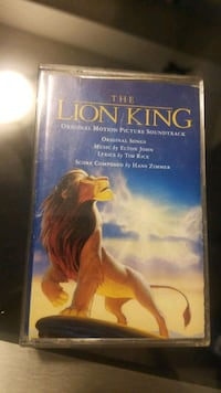 Lion King Cassette Tape