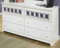 Zayley White Dresser  by Ashley   Houston, 77036
