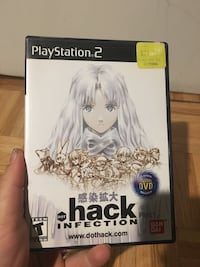 Dot .hack Infection PlayStation2 mint game rare Toronto, M5R 2L8