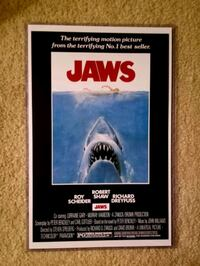 Brand New 11x17 poster in Jaws  Bunker Hill, 25413