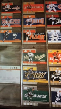 Ice hockey player trading cards London, N5Y 4M3