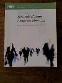 Strategic Human Resources Planning Textbook Guelph, N1E 4G1