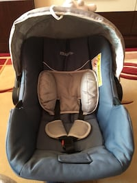 Baby's black and gray kraft car seat Selçuklu, 42250