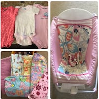 Baby Girl Chair/Clothes/Blankets Gilbert