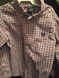 red and blue gingham Chaps sports shirt Stephens City, 22655