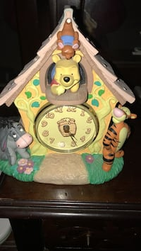 Winnie the pooh clock collector -numbered