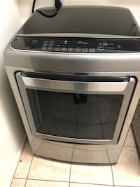 gray and black Samsung front-load clothes washer San Tan Valley, 85143